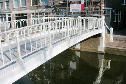 Restauratie Hopbrug Delft